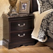 Esmarelda 2 Drawer Nightstand