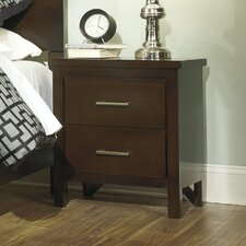 Winlane 2 Drawer Nightstand