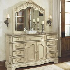 Ortanique 9 Drawer Combo Dresser