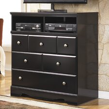 Shay 3 Drawer Media Chest