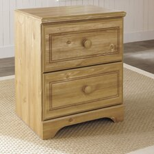 Broffin 2 Drawer Nightstand