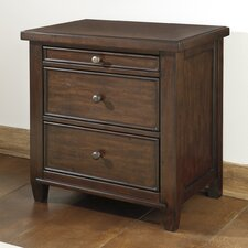 Hindell Park 3 Drawer Nightstand