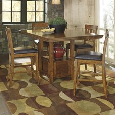 Ralene 5 Piece Counter Height Dining Set