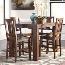 Chimerin Counter Hight 5 Piece Dining Set