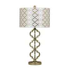 """Razailia 31.75"""" H Table Lamp with Drum Shade (Set of 2)"""