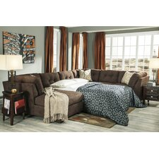 Delta City Left Sleeper Sectional (Set of 11)