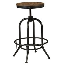 "Pinnadel 30"" Swivel Bar Stool (Set of 2)"