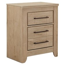 Annilynn 3 Drawer Nightstand
