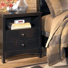 <strong>Signature Design by Ashley</strong> Menard 2 Drawer Nightstand