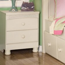 Carey 2 Drawer Nightstand