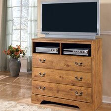 Atlee 3 Drawer Media Chest