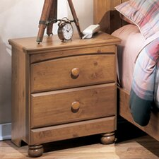 <strong>Signature Design by Ashley</strong> Elsa 2 Drawer Nightstand