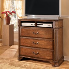 <strong>Signature Design by Ashley</strong> Vera 3 Drawer Media Chest