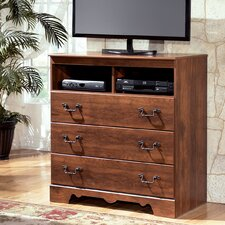 Oakridge 3 Drawer Media Chest