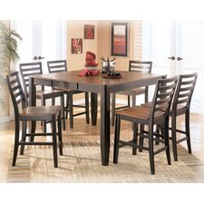 <strong>Signature Design by Ashley</strong> Barlow 7 Piece Counter Height Dining Set