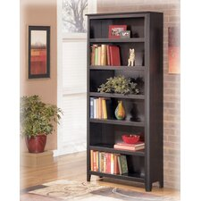"<strong>Signature Design by Ashley</strong> Carlyle 75"" Bookcase"