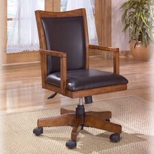 <strong>Signature Design by Ashley</strong> High Bach Cross Island Swivel Office Chair with Arm