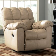 <strong>Signature Design by Ashley</strong> Valley Leather Chaise Recliner