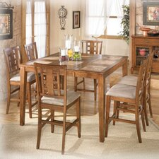 <strong>Signature Design by Ashley</strong> Trent 7 Piece Counter Height Dining Set