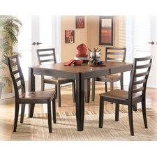<strong>Signature Design by Ashley</strong> Barlow 5 Piece Dining Set