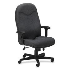Executive High-Back Chair with Adjustable Arms