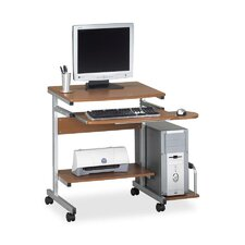 Computer Desk Cart with 5 Casters