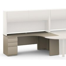 """J"" 30"" H x 72"" W Right Desk Return"