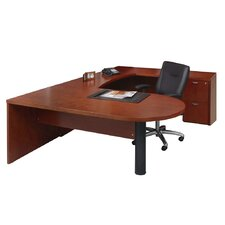 Mira Series U-Shape Executive Desk Typical #13