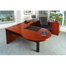 Mira Series U-Shape Executive Desk Typical #22