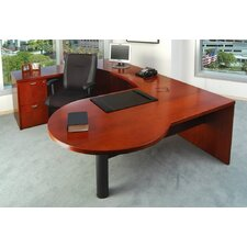 Mira Series U-Shape Executive Desk Typical #21