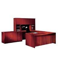 Aberdeen Series 3-Piece U-Shape Desk Office Suite