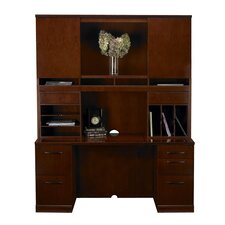 Sorrento Series Typical #23 Standard Desk Office Suite