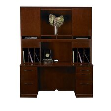 Sorrento Series Typical #24 Standard Desk Office Suite