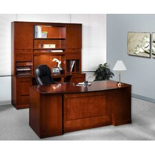 Sorrento Series Typical #13 Standard Desk Office Suite