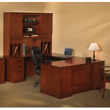 Sorrento Series Typical #4 Standard Desk Office Suite