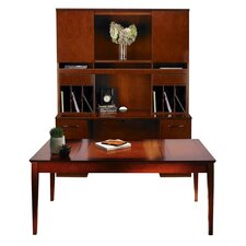 Sorrento Series Typical #18 Standard Desk Office Suite