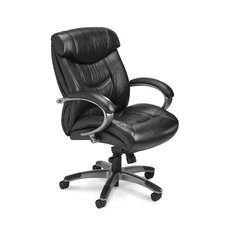 Series 200 High-Back Leather Office Chair