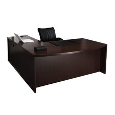 Mira Series Credenza Desk Typical #5