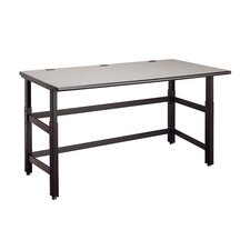 Techworks Adjustable Utility Table with Worksurface