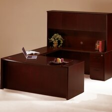 Corsica Series U-Shape Desk Office Suite