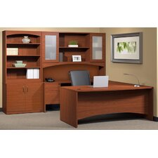 Brighton 6-Piece Series U-Shape Desk Office Suite