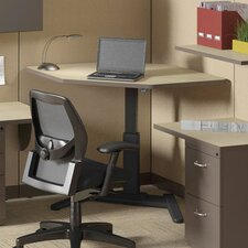 "VariTask 25"" - 41.5"" H x 36"" W LT-Series Desk Surface Corner"