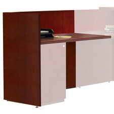 "Luminary Series 42"" H x 48"" W Reception Desk Return"