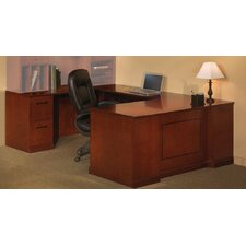 Sorrento Series 2-Piece U-Shape Desk Office Suite