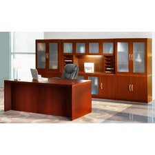 Aberdeen Series Standard Desk Office Suite
