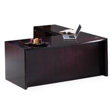 Corsica Series L-Shape Desk Office Suite