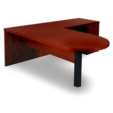 Mira Series Executive Desk Typical #12