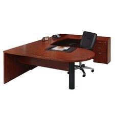 Mira Series U-Shape Executive Desk Typical #14