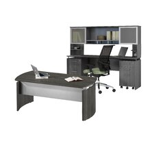 Medina Series Standard Desk Office Suite