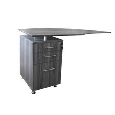Medina Series Left Curved Desk Return
